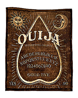 Ouija Fleece Blanket - Hasbro