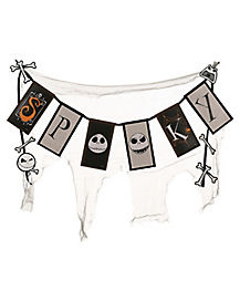 Spooky Jack Skellington Banner - The Nightmare Before Christmas