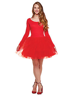 Red Starter Tutu Dress