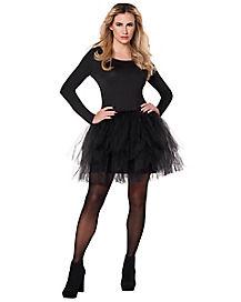 Adult Black Starter Tutu Dress