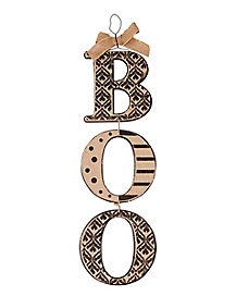 Boo Hanging Sign