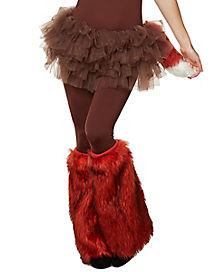 Fox Furries Faux Fur Leg Warmers
