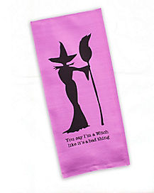 Witch Dish Towel