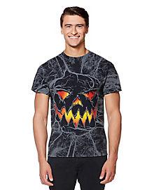 Evil Pumpkin T Shirt