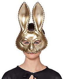 Silvertone Bunny Mask