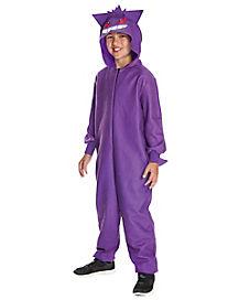 Kids Gengar Pajama Costume - Pokemon