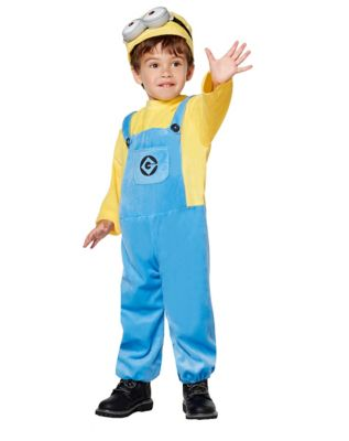 Toddler Minions One Piece Costume - Despicable Me 3  sc 1 st  Spirit Halloween & Toddler Dave Minion Costume - Despicable Me 2 - Spirithalloween.com