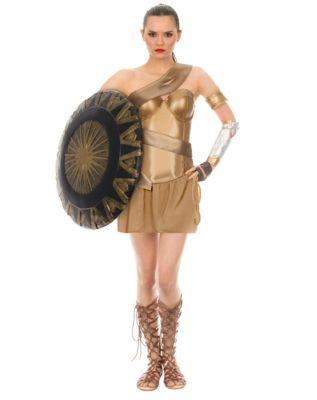 Adult Wonder Woman Dress Costume - DC Comics  sc 1 st  Spirit Halloween & Adult Wonder Woman Corset Costume - DC Comics - Spirithalloween.com