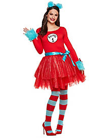 Adult Thing Tutu Dress Costume - Dr. Seuss