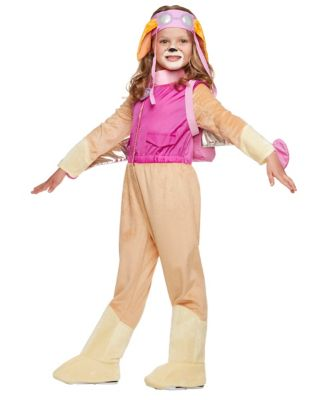 Toddler Jumpsuit Skye Costume - PAW Patrol  sc 1 st  Spirit Halloween & Toddler Skye Costume Deluxe - Paw Patrol - Spirithalloween.com