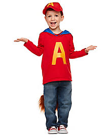 Toddler Alvin Costume - Alvin and the Chipmunks