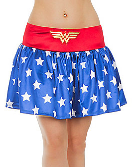 Adult Wonder Woman Skirt - DC Comics
