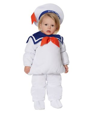 Ghostbusters Baby Stay Puft Costume