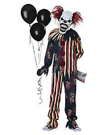 scary clown - Scary Halloween Costumes For Children