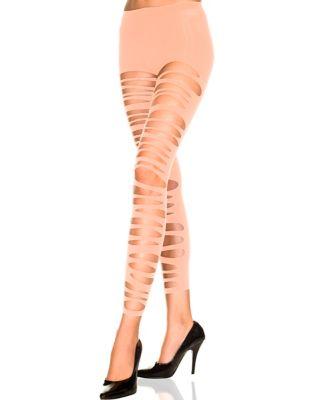 8db52c4eb84 Garter Opaque Thigh High Stockings - Spirithalloween.com
