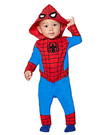 Toddler Spider-Man Coveralls - Marvel