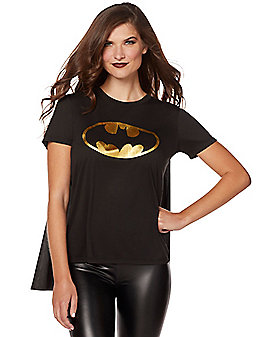 Caped Batgirl T-Shirt - DC Comics