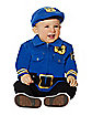 Baby One Piece Police Costume