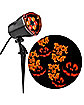 Red and Orange Trick or Treat Spot Light