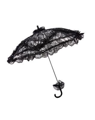 Vintage Style Parasols and Umbrellas Vampire Lace Umbrella by Spirit Halloween $14.99 AT vintagedancer.com