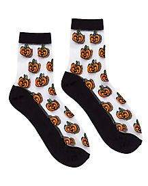 Candy Corn Crew Socks