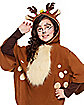 Kids Faux Fur Deer Poncho
