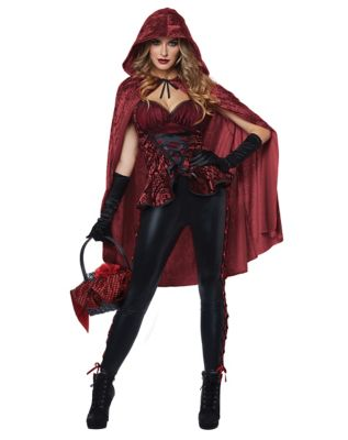 Adult Big Bad Red Costume  sc 1 st  Spirit Halloween & Adult She Wolf Werewolf Costume - Spirithalloween.com
