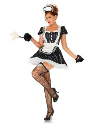 Image result for adult frisky french maid costume