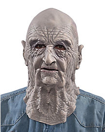 Gray Elderly Mask