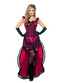 Adult Burlesque Babe Costume