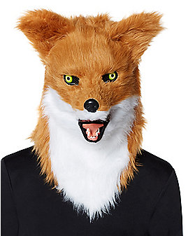 Moving Mouth Fox Full Mask