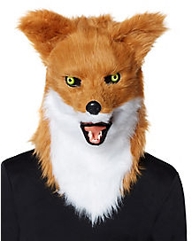 Moving Mouth Fox Mask