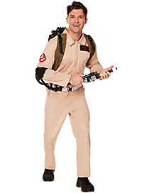 adult mens ghostbusters one piece costume ghostbusters classic