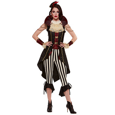 Victorian Steampunk Clothing & Costumes for Ladies Adult Swashbuckler Pirate Costume $69.99 AT vintagedancer.com