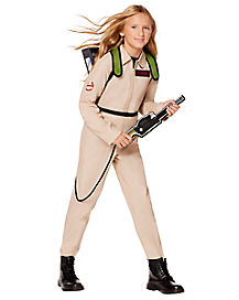 Kids Ghostbusters Girls One Piece Costume - Ghostbusters Classic