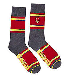 Gryffindor Embroidered Crew Socks - Harry Potter
