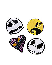 Jack and Sally Patches - The Nightmare Before Christmas
