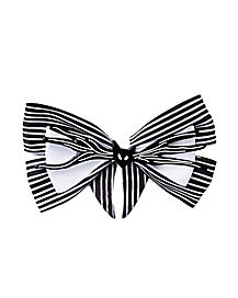 Jack Skellington Hair Bow - The Nightmare Before Christmas