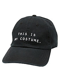 This Is My Costume Dad Hat