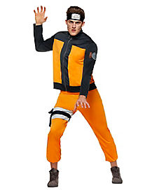 Adult Naruto Costume - Naruto  sc 1 st  Spirit Halloween : halloween costumes at spirit  - Germanpascual.Com