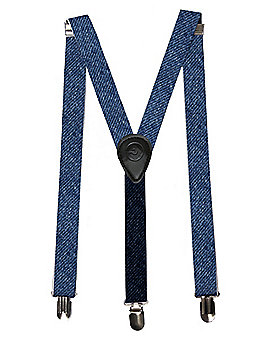 Denim Minion Suspenders - Despicable Me