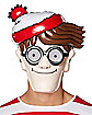 Adult Where's Waldo Mask - Where's Waldo