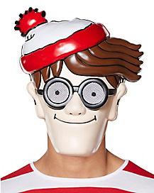 Adult Where's Waldo Mask - Where's Waldo