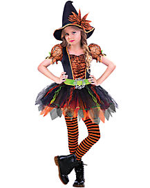kids razzle dazzle witch costume