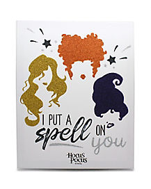 I Put A Spell on You Canvas Decoration - Hocus Pocus