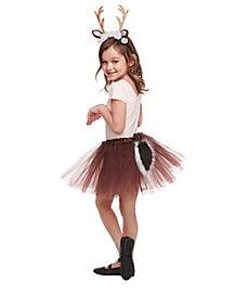 Kids Faux Fur Deer Costume Kit