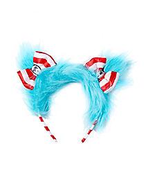 Kids Faux Fur Thing Headband - Dr. Seuss