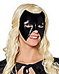 Deluxe Black Face Mask