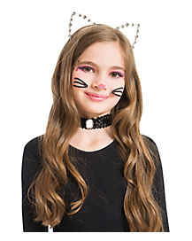 Rhinestone Cat Headband