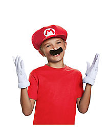 Kids Mario Costume Kit - Nintendo